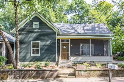 Reynoldstown Single Family Home Under Contract: 804 Harold Ave