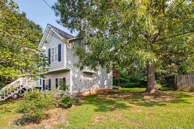 Douglasville Single Family Home New: 107 Grapevine