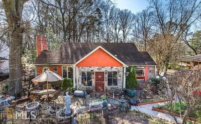 Atlanta Single Family Home New: 1357 Lochland Rd
