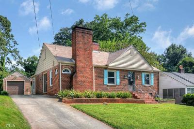 Capital View Manor Single Family Home Under Contract: 409 Deckner