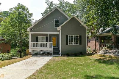 Atlanta Single Family Home New: 506 Chappell