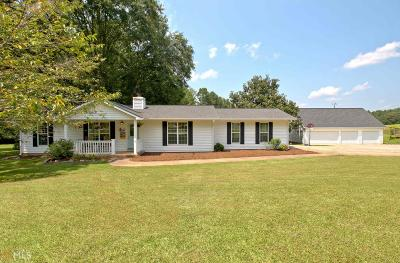 Newnan Single Family Home Under Contract: 1426 Wagers Mill Rd