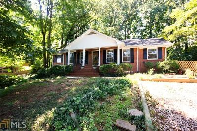 Chamblee Single Family Home Under Contract: 3377 Embry Cir