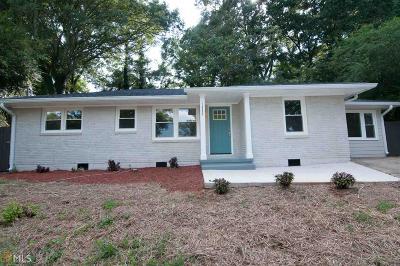 Atlanta Single Family Home New: 1865 SE Winthrop Dr