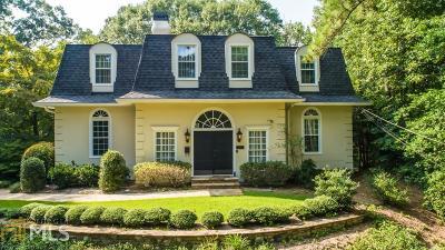 Atlanta Single Family Home New: 3333 Cochise Drive SE