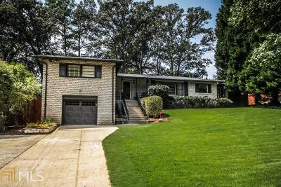 Chamblee Single Family Home Under Contract: 3844 Longview Dr