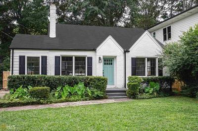 Atlanta Single Family Home New: 2837 Tupelo St