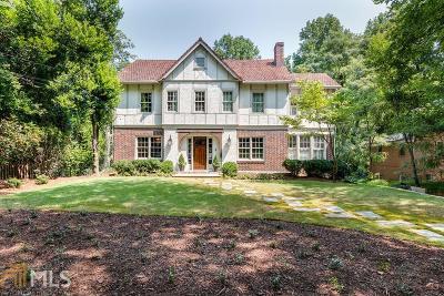 Atlanta Single Family Home New: 676 E Morningside Dr