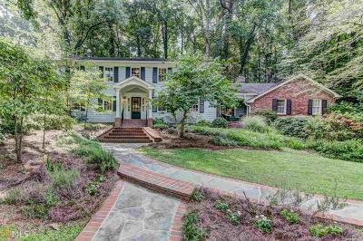 Atlanta Single Family Home New: 1080 Mountain Creek