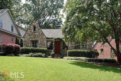 Decatur Single Family Home Under Contract: 306 Coventry Rd