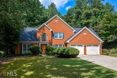 Alpharetta Single Family Home New: 12362 Crabapple Meadow