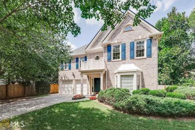 Atlanta Single Family Home Under Contract: 720 Glenridge Close Dr