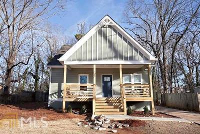 Atlanta Single Family Home New: 1692 Terry Mill Rd