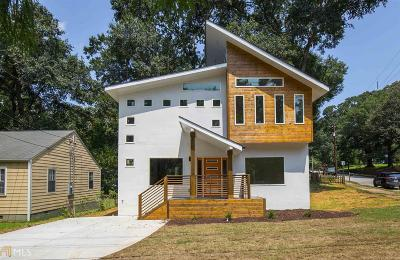 Atlanta Single Family Home New: 1520 Woodbine