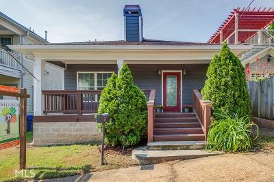 Atlanta Single Family Home New: 135 Richmond St