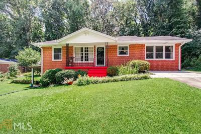 Atlanta Single Family Home New: 3710 Hill Acres Rd
