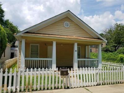Atlanta Single Family Home New: 30 NE Ormond St