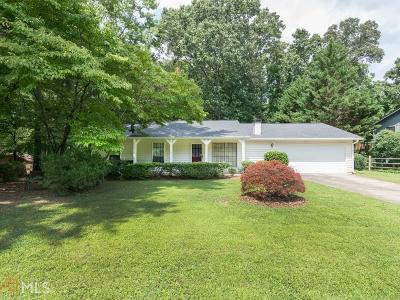 Marietta Single Family Home Under Contract: 4793 Jamerson Forest Parkway