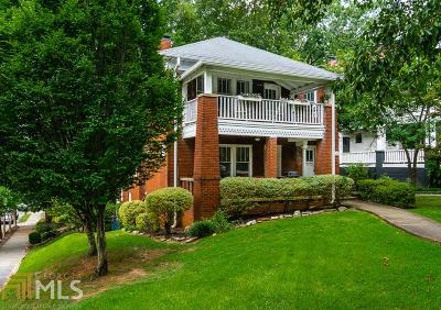 Atlanta Single Family Home New: 1110 N Highland