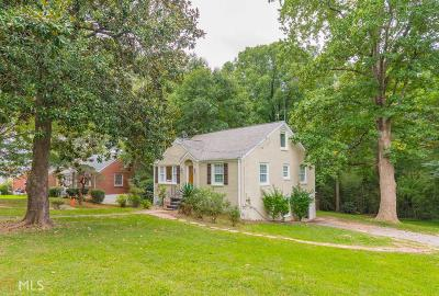 Decatur Single Family Home New: 2081 Tilson Road