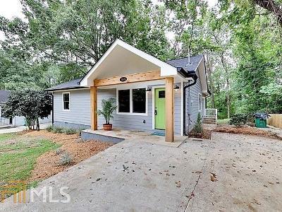 Atlanta Single Family Home New: 1893 Lomita Rd