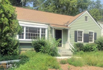 Atlanta Single Family Home New: 1931 Sylvan Road SW
