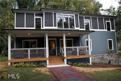 Atlanta Single Family Home New: 1320 Arnold Avenue NE Avenue