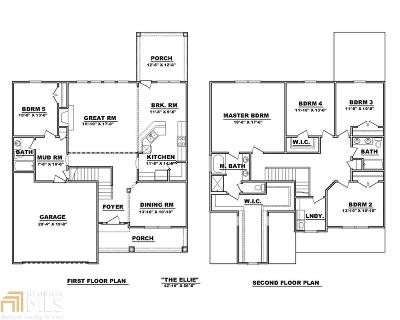Dallas GA Single Family Home New: $330,000
