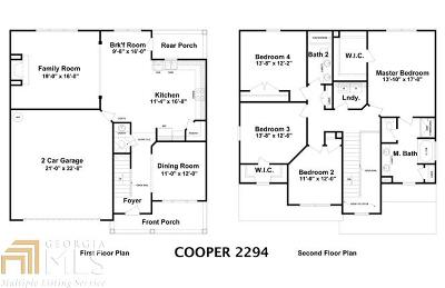 Dallas GA Single Family Home New: $340,000