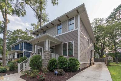 Atlanta Single Family Home New: 286 Norwood Ave