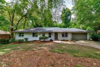 Atlanta Single Family Home New: 2511 Sherbrooke
