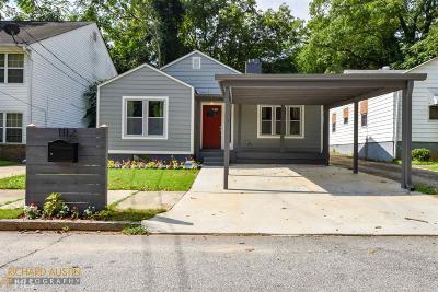 Atlanta Single Family Home New: 1112 SW Harwell
