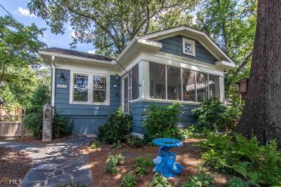 Atlanta Single Family Home New: 890 Virginia Cir