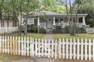 Brookhaven Single Family Home New: 1184 Ogltrhorpe Ave