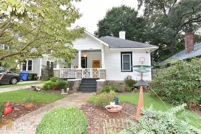 Atlanta Single Family Home New: 294 Ferguson St