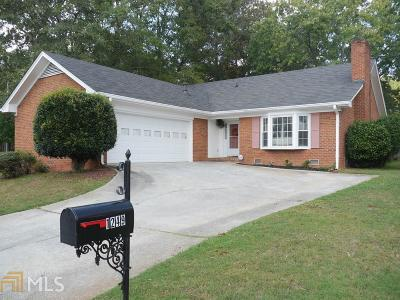 Stone Mountain Single Family Home New: 1249 Hunters Drive