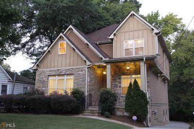 Atlanta Single Family Home New: 1248 Atlantic Dr