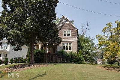 Atlanta Single Family Home New: 2804 Georgian Dr W