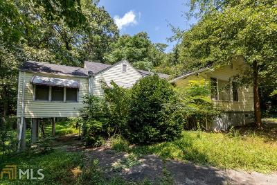 Fulton County Single Family Home For Sale: 243 Howell Ter