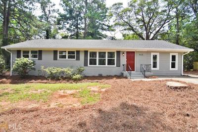 Smyrna Single Family Home New: 465 Plantation