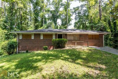 Atlanta Single Family Home New: 3991 Blanton Avenue SW