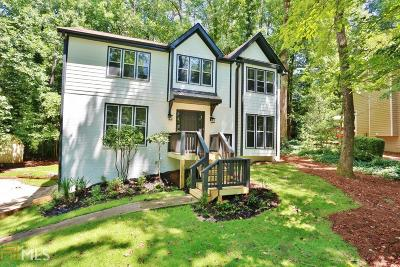 Roswell Single Family Home New: 285 Old Tree Trce