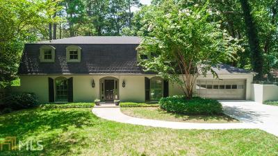 Dunwoody Single Family Home New: 4488 Huntington Cir