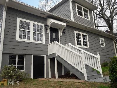 Atlanta Single Family Home New: 1280 Arkwright Pl