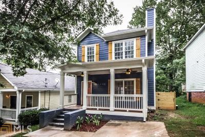 Atlanta Single Family Home New: 1002 Sims