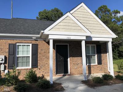 Statesboro Condo/Townhouse For Sale: 100 Buckhaven