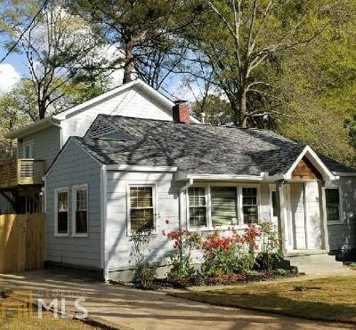 Atlanta Single Family Home New: 372 Ashburton Ave