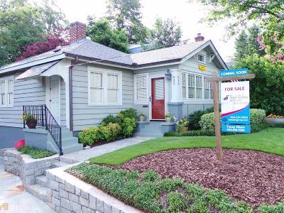 Atlanta Single Family Home New: 635 SE Cameron Street