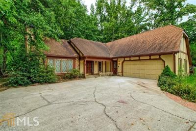 Alpharetta Single Family Home Under Contract: 7114 Surrey Point