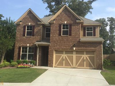 Lawrenceville Single Family Home New: 1233 Park Hollow Ln